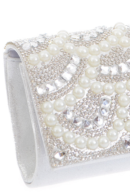 Sparkle Pearl Clutch - Jewelry Buzz Box  - 2
