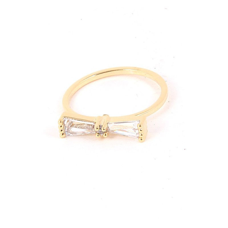 Bow Mid Ring - Jewelry Buzz Box  - 1