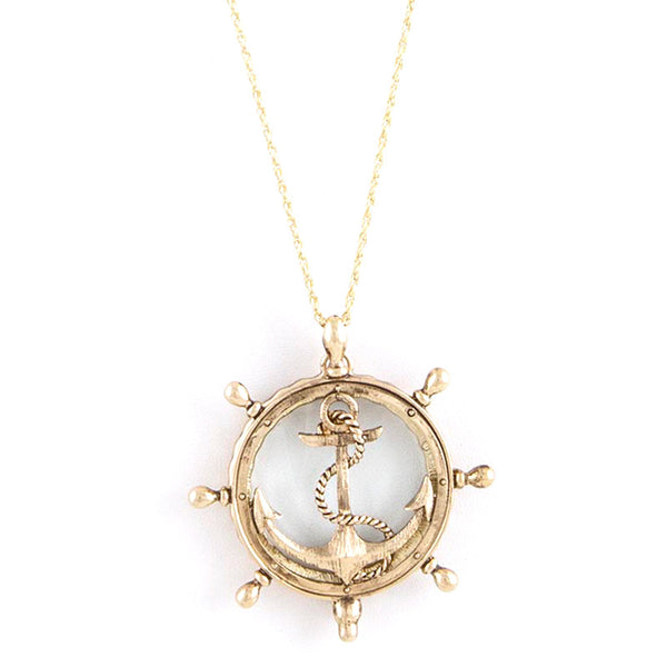 Shipwreck Magnify Necklace - Jewelry Buzz Box  - 1