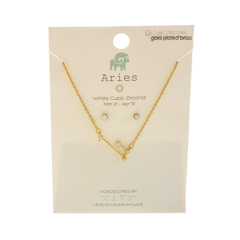 Horoscope Necklace Set - Jewelry Buzz Box  - 15