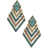 Cherokee Earrings - Jewelry Buzz Box  - 1