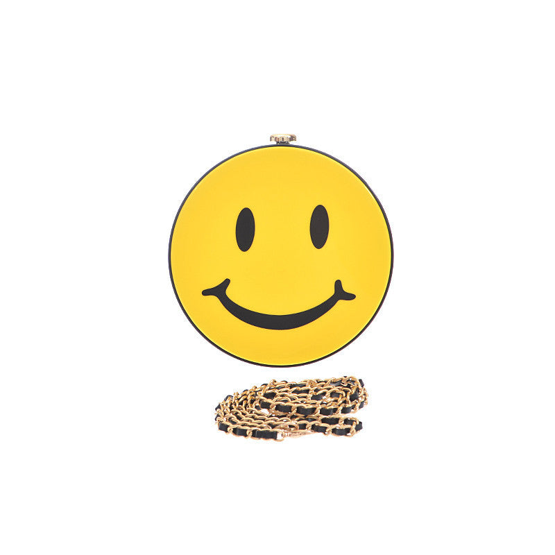 Smiley Clutch - Jewelry Buzz Box  - 1