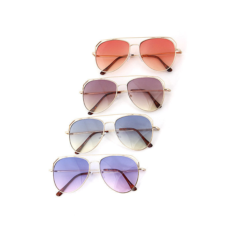 Adore Aviator Sunglasses - Jewelry Buzz Box  - 1