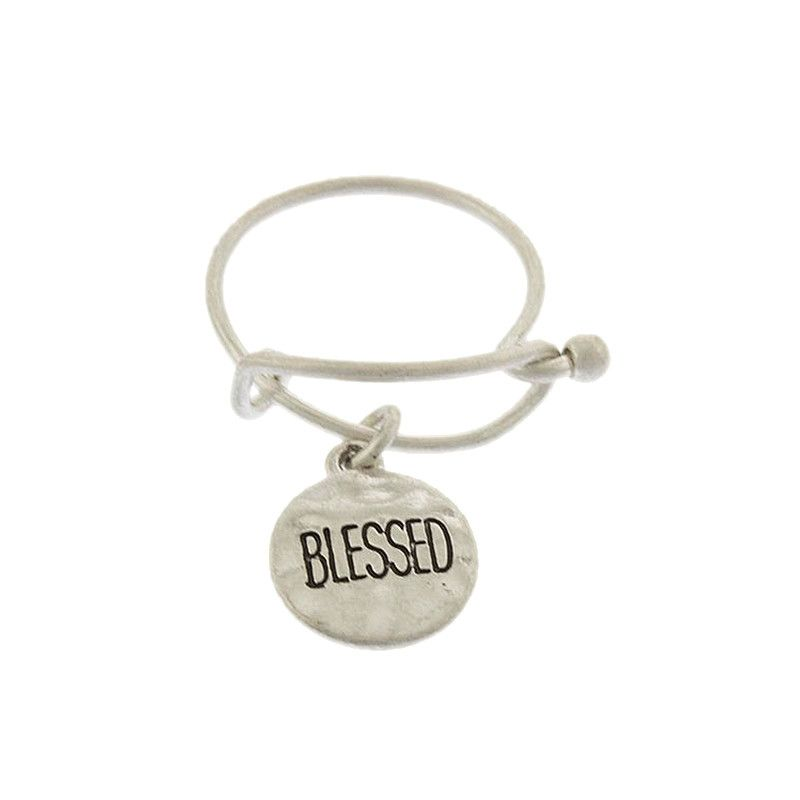 Blessed Disk Ring - Jewelry Buzz Box  - 2