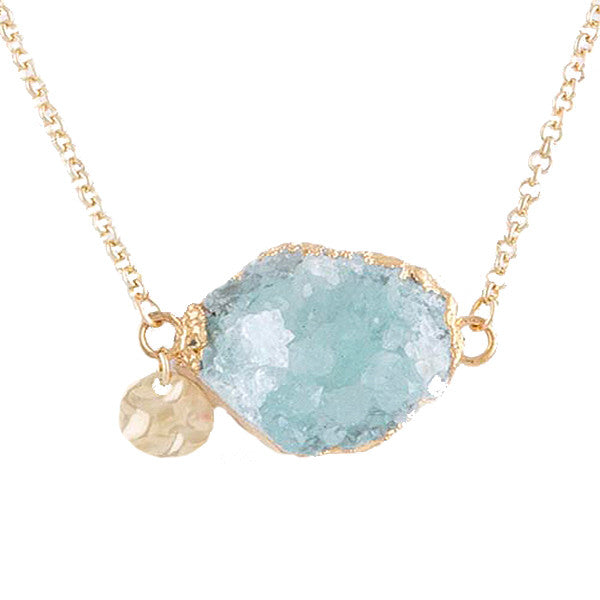 Dreamy Geode Necklace - Jewelry Buzz Box  - 1