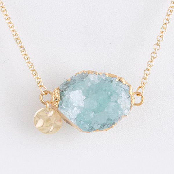 Dreamy Geode Necklace - Jewelry Buzz Box  - 3