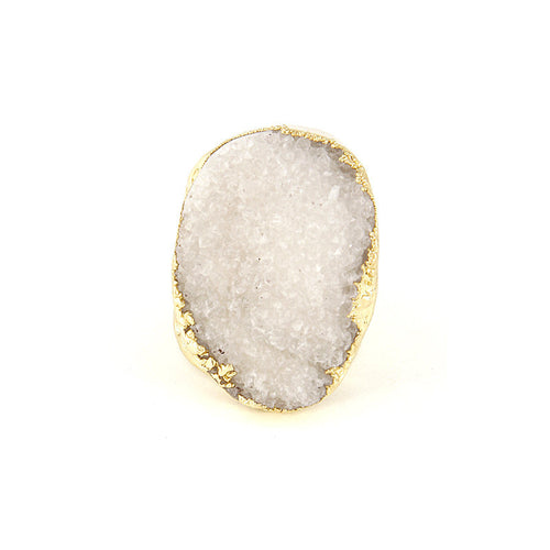 Druzy Damsel Ring - Jewelry Buzz Box  - 2