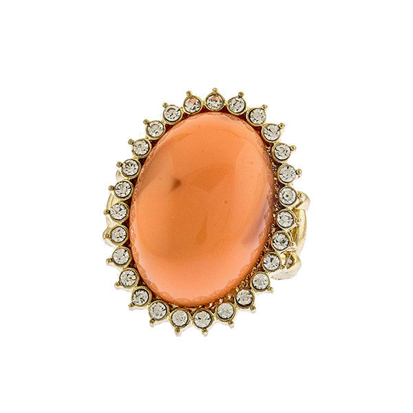 Sun Stone Ring - Jewelry Buzz Box  - 1