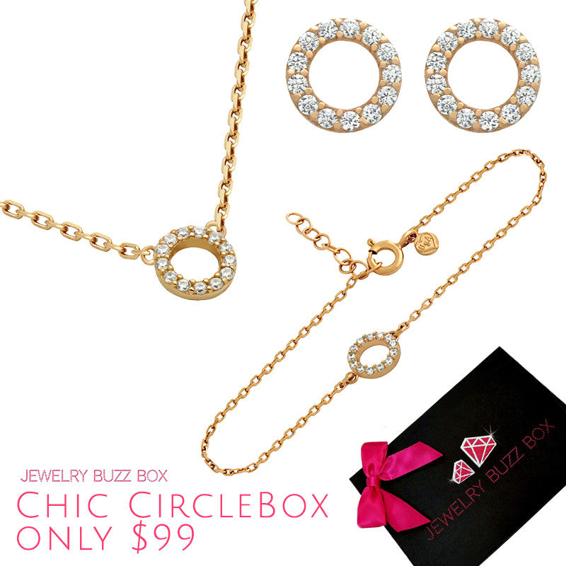 Chic Circle Box - Jewelry Buzz Box  - 3