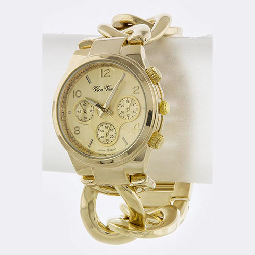 Cuban Link Watch - Jewelry Buzz Box  - 2