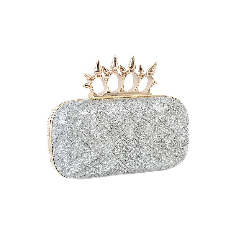 Snake & Spike Clutch - Jewelry Buzz Box  - 1
