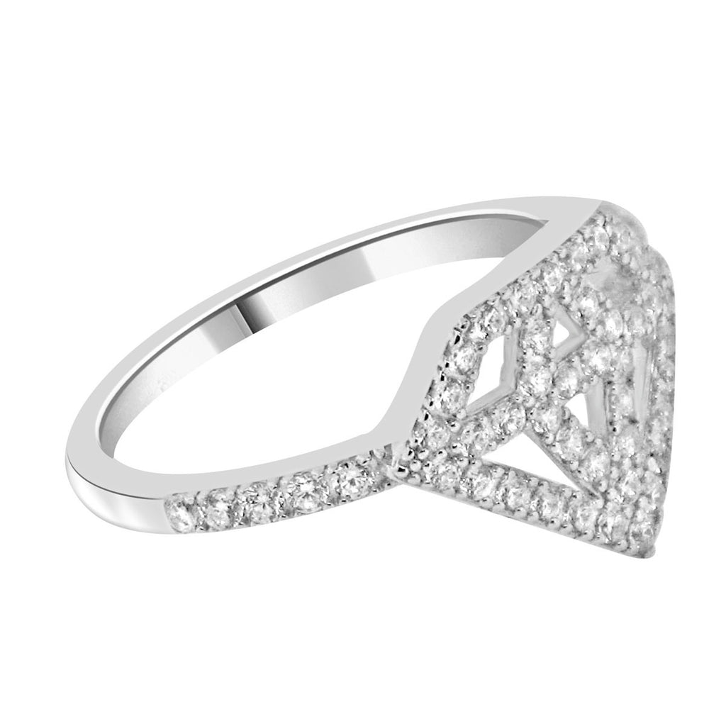 Diamonds Are Forever Silver Ring - Jewelry Buzz Box  - 2