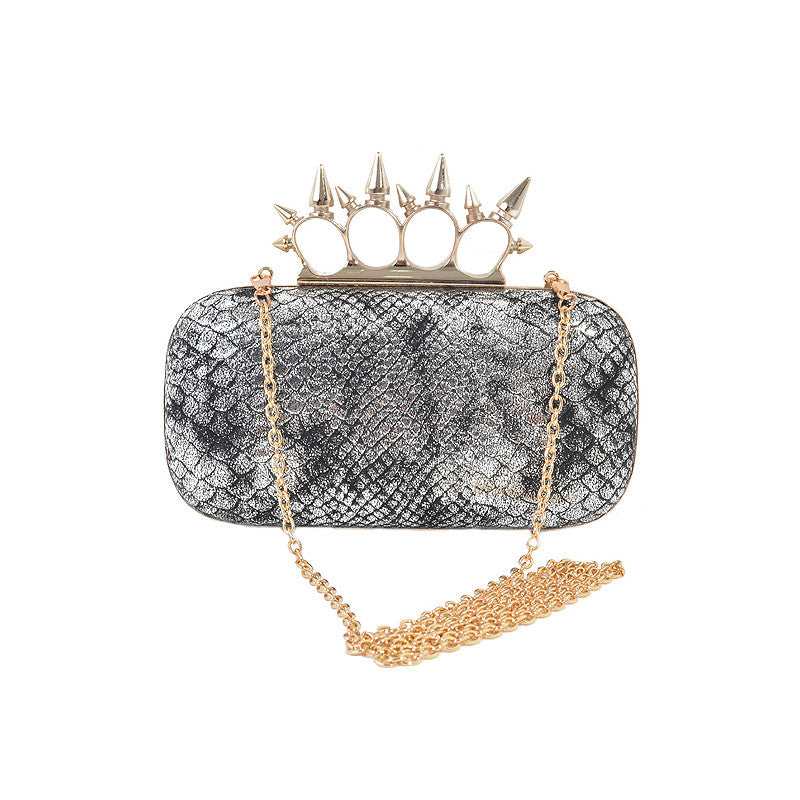 Snake & Spike Clutch - Jewelry Buzz Box  - 7