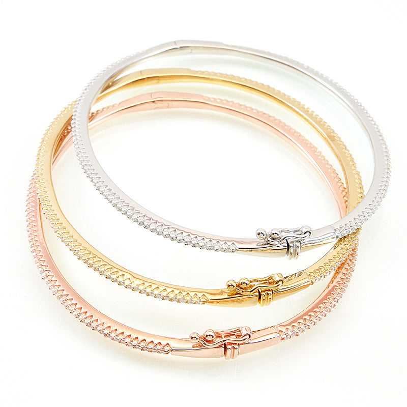 Dainty Bangle Bracelet - Jewelry Buzz Box