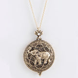 Elephant Magnify Necklace - Jewelry Buzz Box  - 5