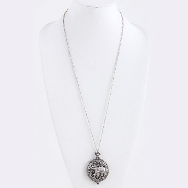 Elephant Magnify Necklace - Jewelry Buzz Box  - 3