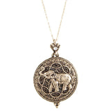 Elephant Magnify Necklace - Jewelry Buzz Box  - 1