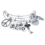 Peace Expandable Bracelet - Jewelry Buzz Box  - 3