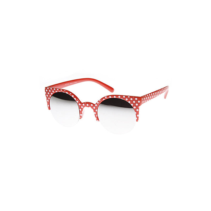 Polka Dot Princess Sunglasses - Jewelry Buzz Box  - 2