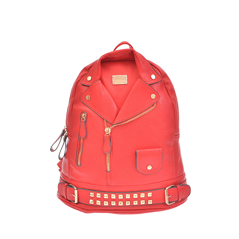 Leather Jacket Backpack - Jewelry Buzz Box  - 5