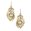 Funky Feather Earrings - Jewelry Buzz Box  - 1