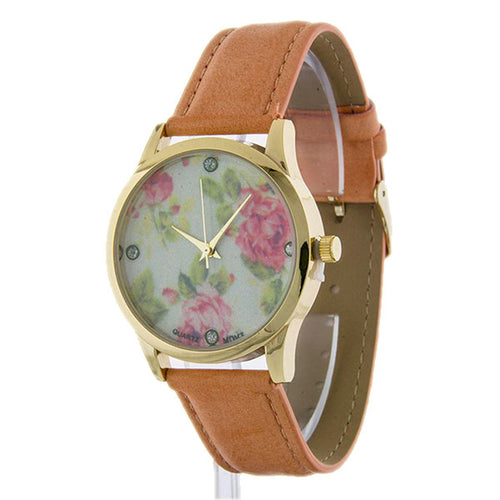 Vintage Rose Watch - Jewelry Buzz Box  - 1