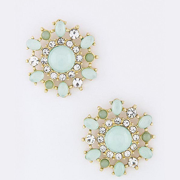 Floral Burst Earrings - Jewelry Buzz Box  - 2
