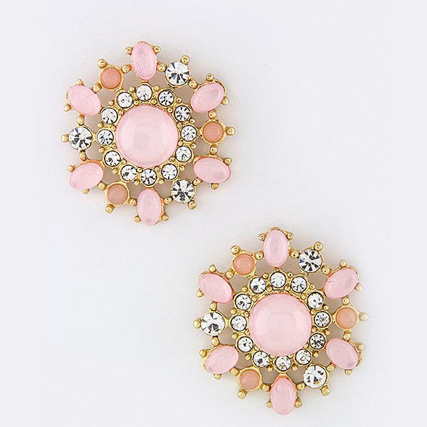 Floral Burst Earrings - Jewelry Buzz Box  - 3