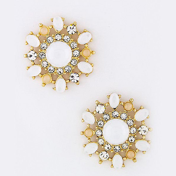 Floral Burst Earrings - Jewelry Buzz Box  - 4