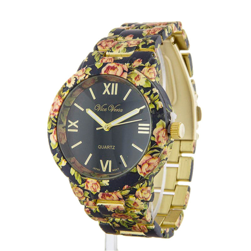 Fancy Floral Watch - Jewelry Buzz Box  - 4