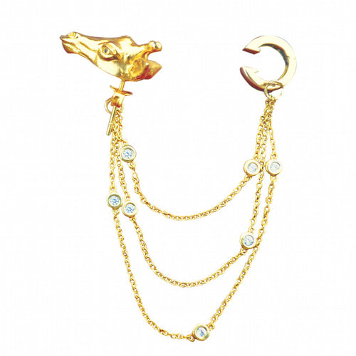 Giraffe Earcuff Set - Jewelry Buzz Box  - 2