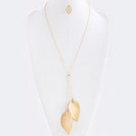 Lovely Leaf Necklace - Jewelry Buzz Box  - 2