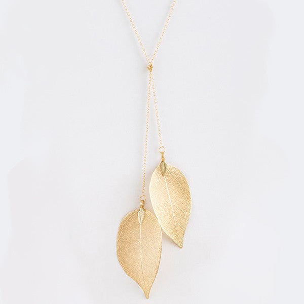 Lovely Leaf Necklace - Jewelry Buzz Box  - 3