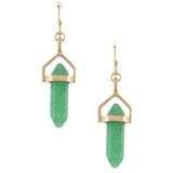 Gem Drop Earrings - Jewelry Buzz Box  - 2