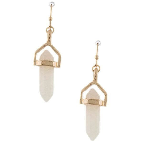 Gem Drop Earrings - Jewelry Buzz Box  - 3