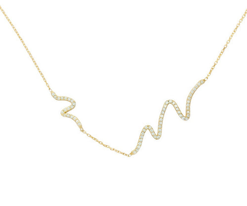 Great Wave Necklace - Jewelry Buzz Box  - 2