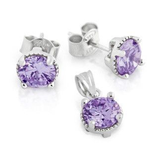 Alexandrite BirthStone Earring - Jewelry Buzz Box  - 1