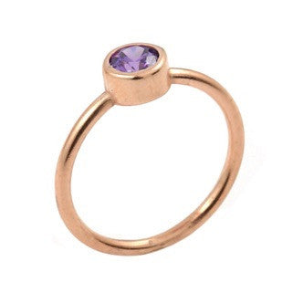 Forward Rose Ring - Jewelry Buzz Box  - 1