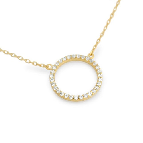 Halo Necklace - Jewelry Buzz Box  - 2