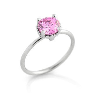 October Tourmine Pink Birthstone - Jewelry Buzz Box  - 1