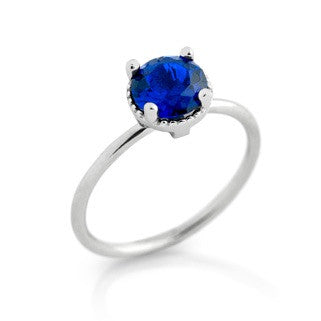 September Sapphire Blue Birthstone - Jewelry Buzz Box  - 1