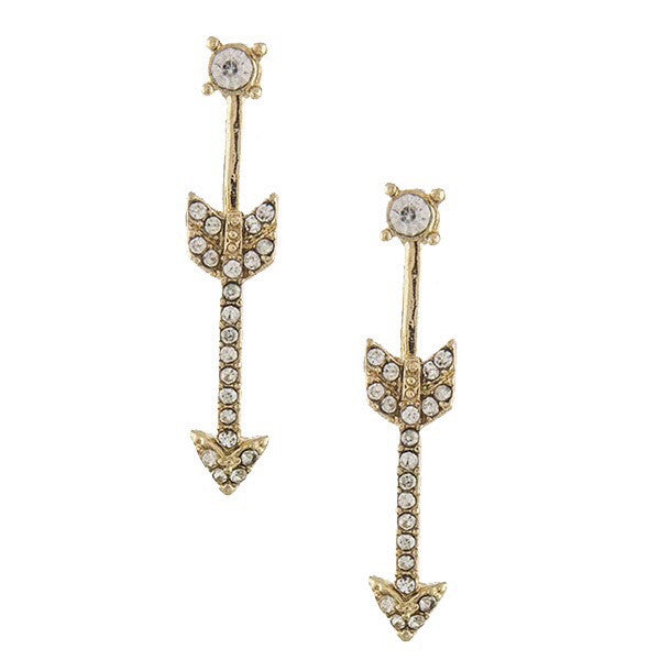 Flecha Earrings - Jewelry Buzz Box  - 1