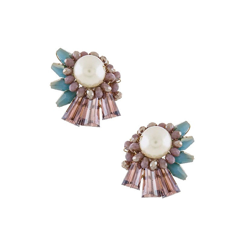 Summer Pearl Earrings - Jewelry Buzz Box  - 1
