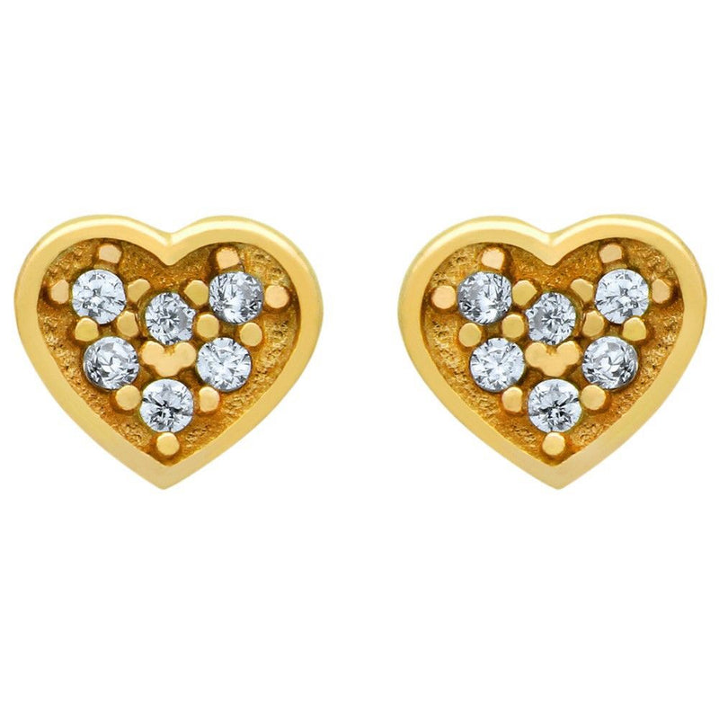 Breathtaking Heart Earrings - Jewelry Buzz Box  - 1