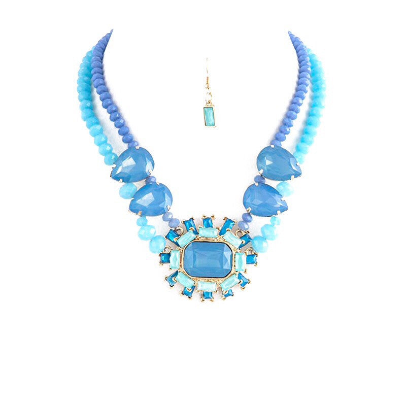 Majestic Necklace Set - Jewelry Buzz Box  - 1