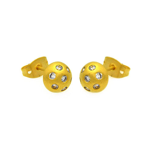Ball Stud Earrings - Jewelry Buzz Box