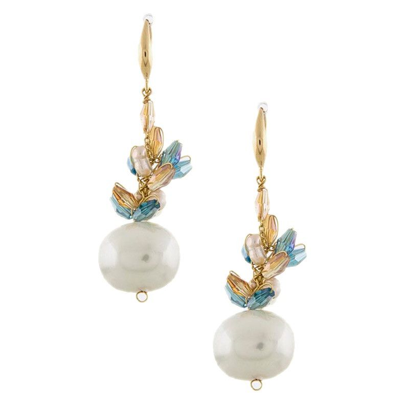 A Drop of Pearl Earrings - Jewelry Buzz Box  - 1