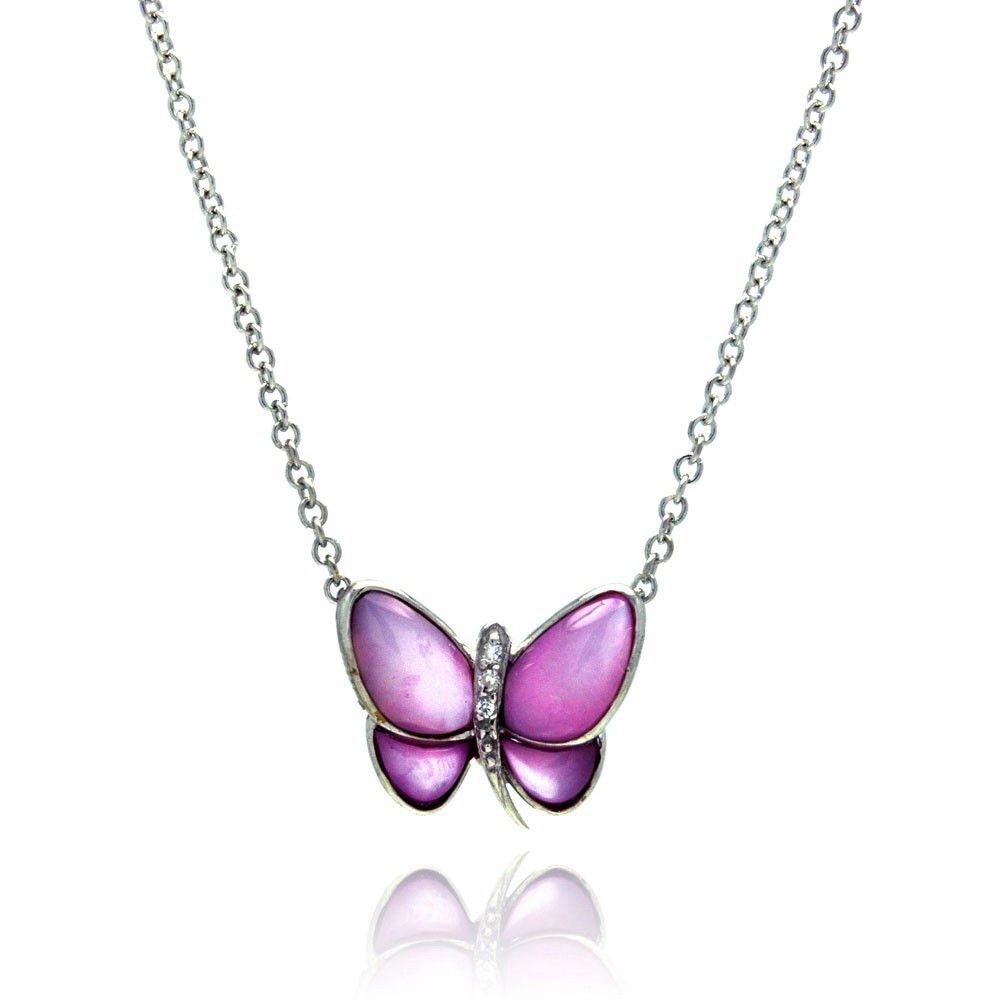 Bright Butterfly Necklace - Jewelry Buzz Box