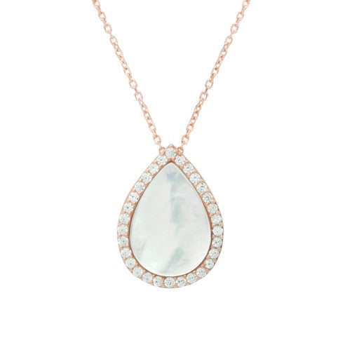 Mother of Pearl Necklace - Jewelry Buzz Box  - 1