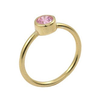 Forward Gold Ring - Jewelry Buzz Box  - 3
